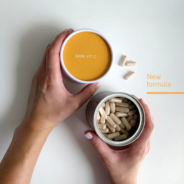 Advanced Nutrition Programme New Skin Vit C 60 Capsules